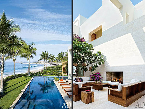George Clooney, Rande Gerber and Cindy Crawford Show Off Their Adjoining Mexican Villas| Celeb Real Estate, Cindy Crawford, George Clooney, Rande Gerber