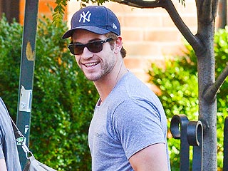 Liam Hemsworth Takes a Break from The Hunger Games for Breakfast