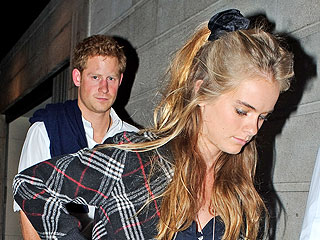 Prince Harry and Girlfriend Have Date Night at a Burger Joint