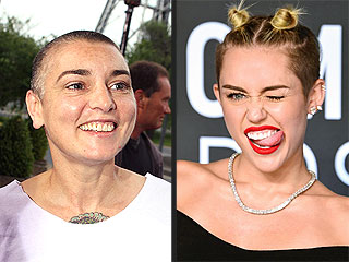 Sinéad O'Connor: Miley Cyrus Fans Are Urging Me to 'Commit Suicide'