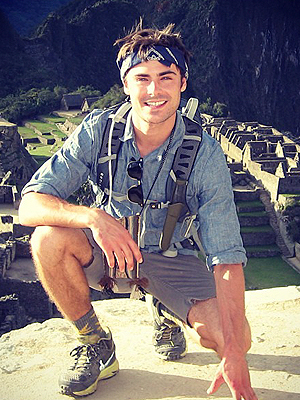 Zac Efron Breaks Silence Post-Rehab, Shares Photo of Peru Trip