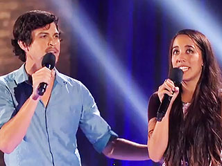 The X Factor: Alex & Sierra Channel John Travolta and Olivia Newton-John