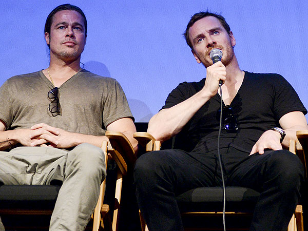Michael Fassbender Brad Pitt Movie Michael Fassbender Brad