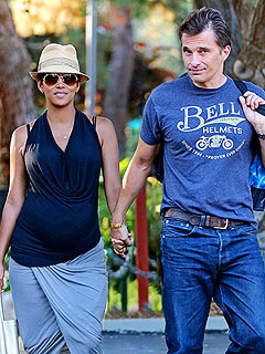 Halle and Olivier Are Keeping Their Newborn Son's Name a Secret – for Now | Halle Berry, Olivier Martinez