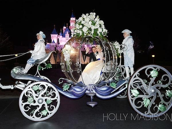 Holly Madison's Wedding Was a Fairytale – at Disneyland| Marriage, Weddings, The Girls Next Door, Holly Madison