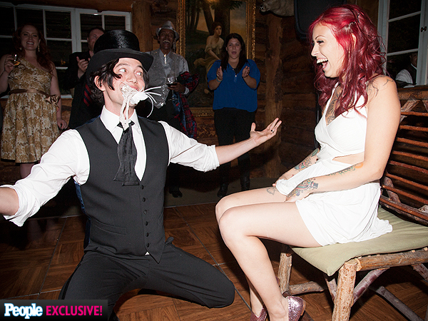 Jackson Rathbone's Wedding: See the Exclusive Photos| Weddings, Twilight, Jackson Rathbone