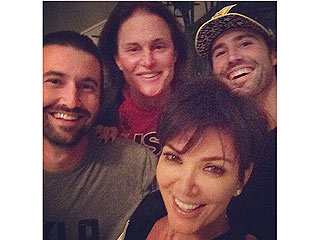 Kris Jenner Hangs with Bruce and His Sons Following Breakup News