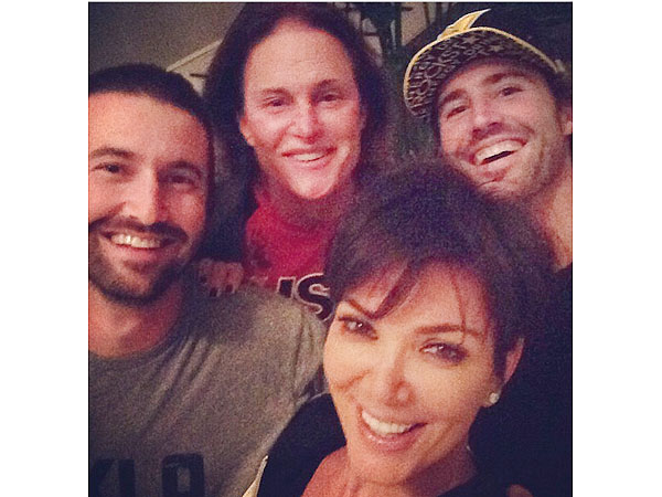 Kris Jenner Posts Photo with Bruce and His Sons Following News of Split