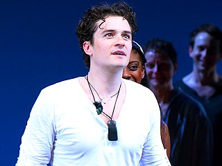 VIDEO: Orlando Bloom Delivers Scene from Broadway's Romeo and Juliet