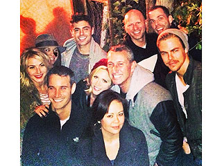 PHOTO: Zac Efron Hits Haunted Hayride Post-Rehab with Famous Pals