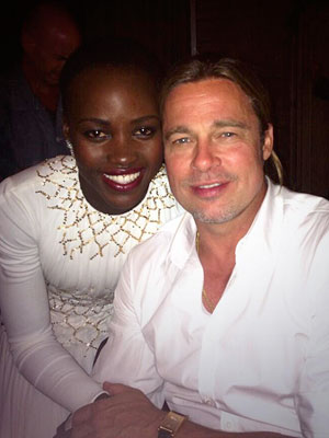 Lupita Nyong'o: Making 12 Years a Slave with Brad Pitt Was an 'Out-of-Body Experience'| 12 Years a Slave, Benedict Cumberbatch, Brad Pitt, Chiwetel Ejiofor, Michael Fassbender