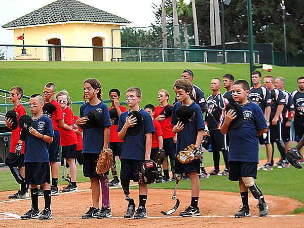 hero 2 600 Wounded Veterans Teach Young Amputees About Softball and Courage