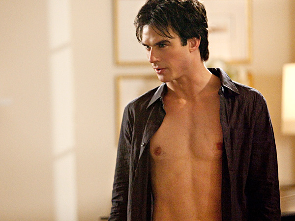 5 Shirtless Guys Who Could Replace Charlie Hunnam in Fifty Shades of Grey| Ian Somerhalder