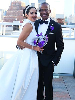 Keith Powell Marries Jill Knox