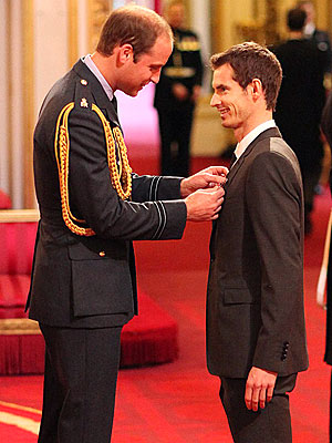 Prince William Bestows Knighthood for the First Time| The British Royals, The Royals, Andy Murray, Prince William, Queen Elizabeth II