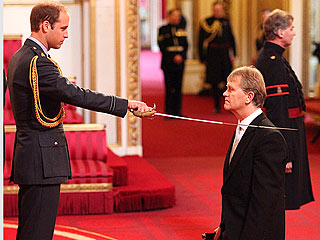 Prince William Bestows Knighthood for the First Time | Prince William