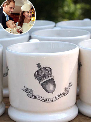 Prince George Fans Rush to Buy Commemorative Mugs in Kate's Hometown