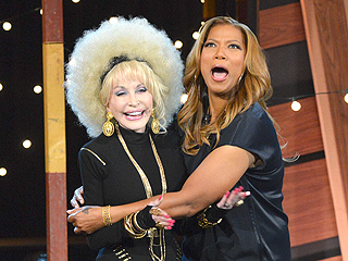 Dolly Parton Raps on Queen Latifah's Show and It's Kinda Crazy