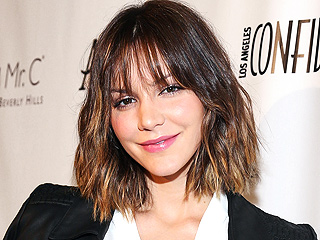 Katharine McPhee Photographed Kissing Married Smash Director | Katharine McPhee