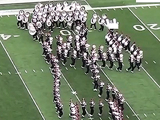 Watch: Ohio State Marching Band's Amazing Tribute to Hollywood