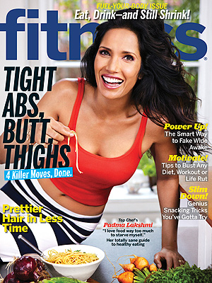 Padma Lakshmi: I Go Up Two Dress Sizes After Top Chef