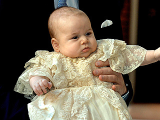 Prince George's Christening Robe to Go on Display at Buckingham Palace