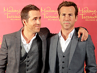 What Does Ryan Reynolds Think of His New Wax Figure? | Ryan Reynolds