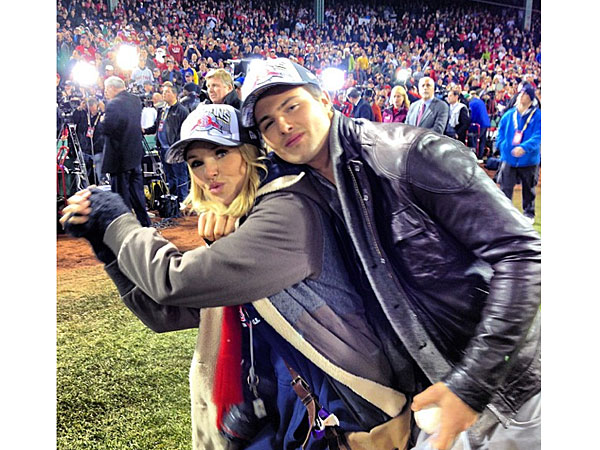 PHOTOS: See Christie Brinkley's Red Sox Victory Album | Christie Brinkley