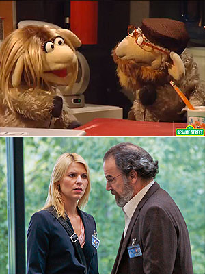 Adorable! Homeland Gets the Sesame Street Treatment