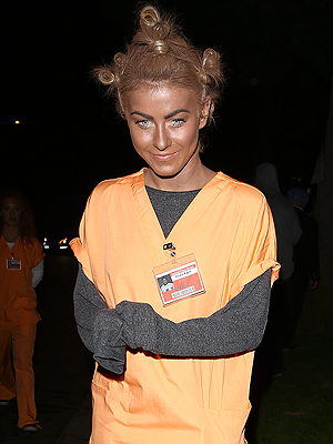 Julianne Hough Apologizes for Blackface Costume at Party
