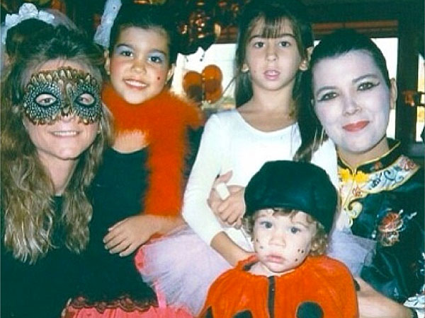 Five Amazing Throwback Thursday Shots, Halloween Edition | Kourtney Kardashian