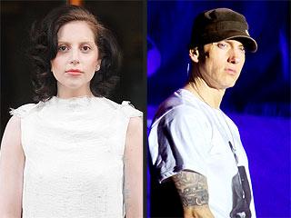Lady Gaga and Eminem Perform at the YouTube Music Awards