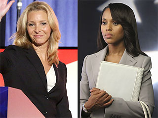 VIDEO: Lisa Kudrow and Kerry Washington Go Head to Head on Scandal