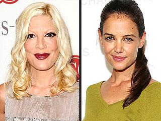 Tori Spelling Disses Katie Holmes and Other Stars' Revealing Memoirs | Katie Holmes, Tori Spelling