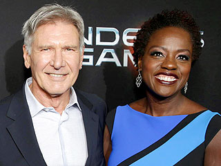 Viola Davis Chickens Out on Plan to 'Ambush-Kiss' Harrison Ford