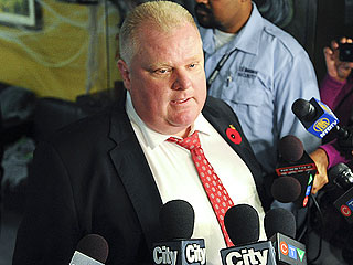 Toronto Mayor Rob Ford Hospitalized with Suspected Tumor