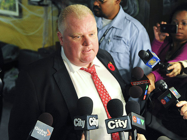 Mayor Rob Ford Votes No to Winter Olympics Celebration in Toronto