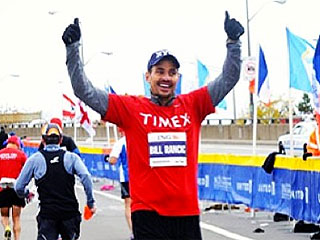 Lots of Ice: How Pam Anderson, Bill Rancic & More Celebrated Finishing the N.Y.C. Marathon