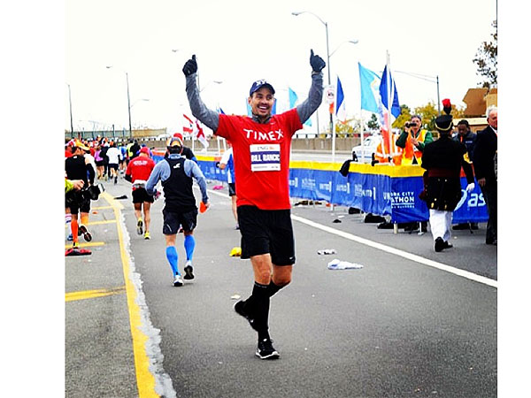 Pam Anderson, Bill Rancic & More Celebrate Finishing the N.Y.C. Marathon