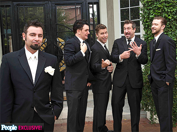 Chris Kirkpatrick Ties the Knot: Inside His Wedding Day| 'N Sync, Marriage, Wedding, Chris Kirkpatrick, JC Chasez, Joey Fatone, Justin Timberlake, Lance Bass