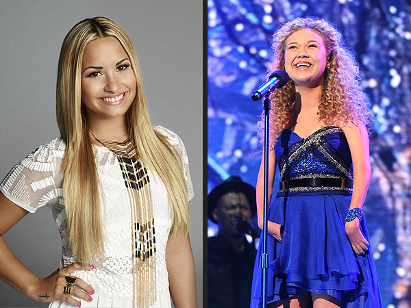 The X Factor: Rion Paige Leaves Demi Lovato in Tears