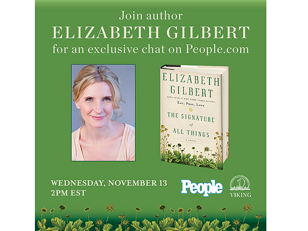 Relive Our Live Chat with Author Elizabeth Gilbert!