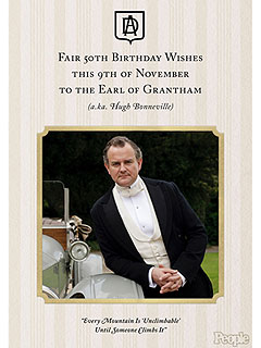 A Very Downton Birthday: An Open Letter to the 50-Year-Old Earl of Grantham