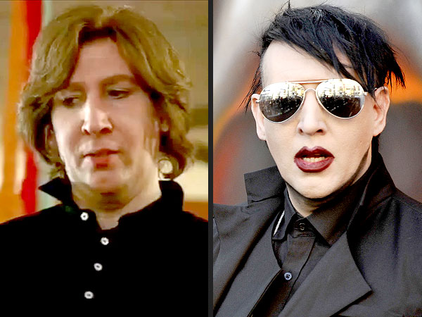 Marilyn Manson Goes Makeup-Free in Eastbound and Down Cameo