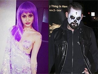Did Miley Cyrus and Benji Madden Hook Up at Halloween Bash?