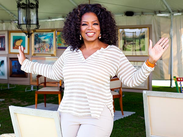 Oprah Winfrey Downsizes with an Epic Yard Sale