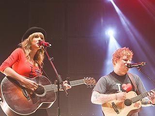VIDEO: Taylor Swift Makes Surprise Appearance at Ed Sheeran's N.Y.C. Concert