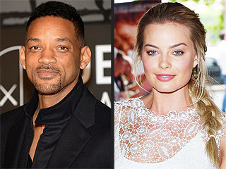Will Smith & Margot Robbie 'Are Just Being Silly' in Suggestive Photos