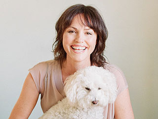 PHOTO: Meet Jorja Fox's New Rescue Dog