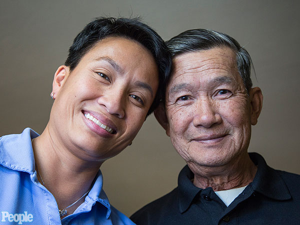 Vietnam Veteran Meets War Orphan He Rescued 40 Years Ago